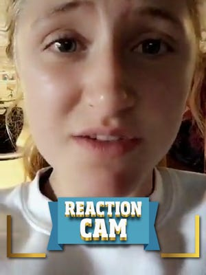 Snapchat's Reaction Cam allowed students to offer their take on Donald Trump's Inauguration.