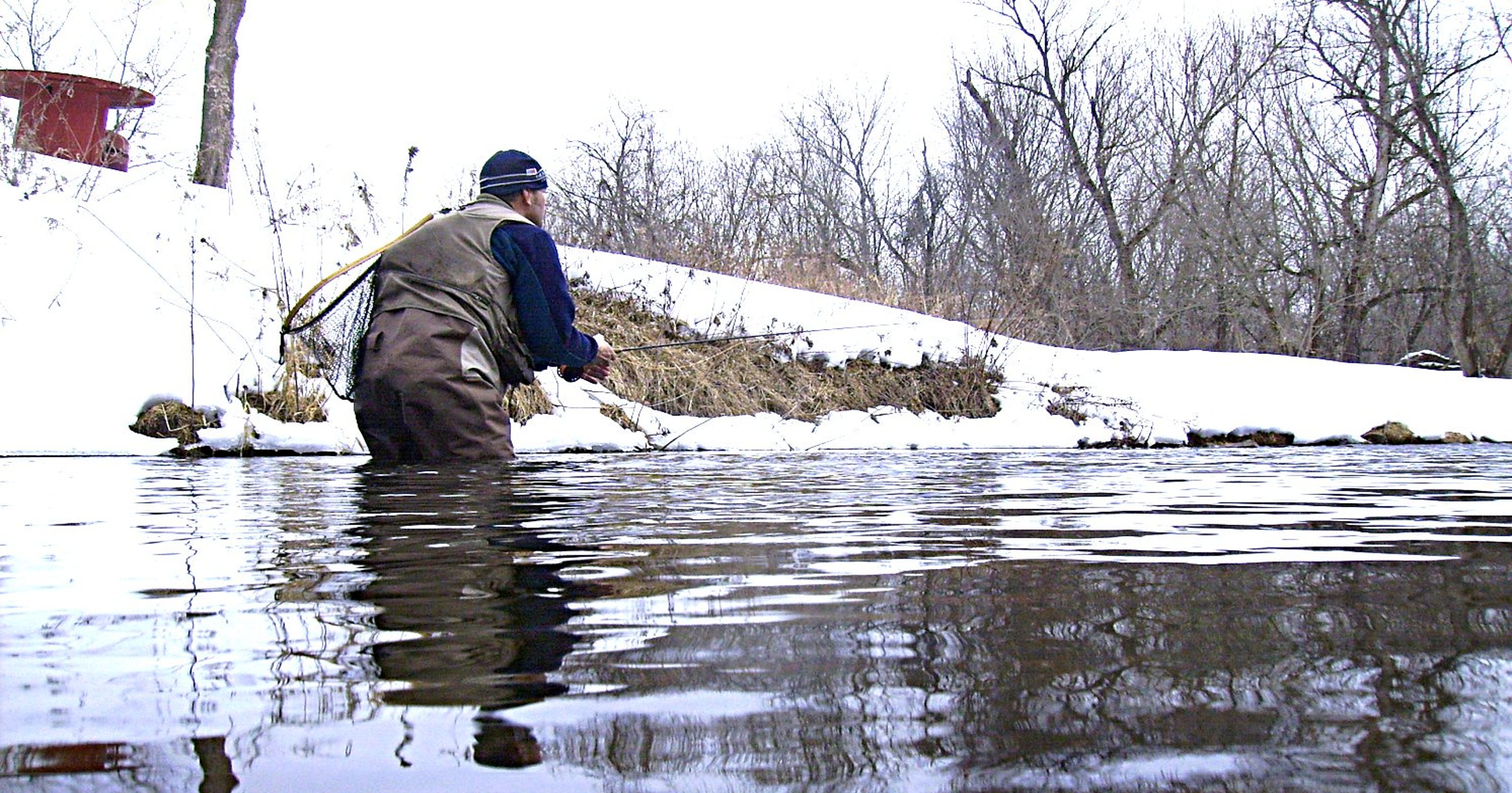 Early season, cold weather trout fishing tips