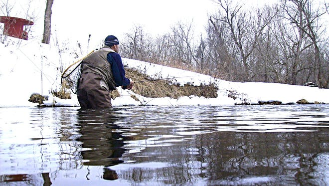 Mat Wagner shares some cold weather trout fishing tips.