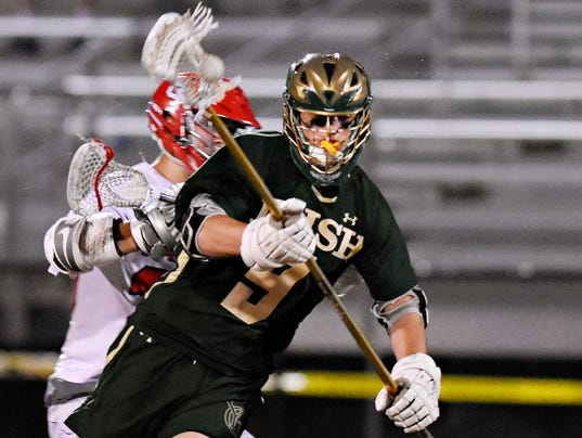York Catholic vs Susquehannock boys' lacrosse semifinal