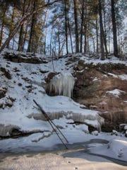 Wedges Creek in southwest Clark County in early March 2015.