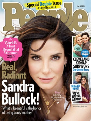 Sandra Bullock is People's Most Beautiful Woman for 2015.