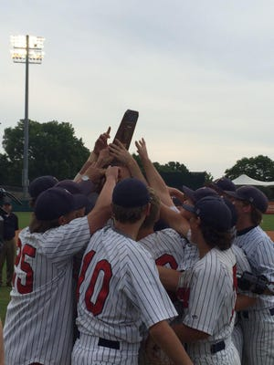 Trinity wins its third baseball title in four years.