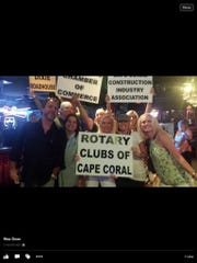 The Rotary Clubs of Cape Coral won last year's Save Our Summer Feed the Cape Smack Down fundraiser to combat hunger. The event takes place tonight at the Dixie Roadhouse.