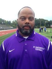 This is St. Martinville head coach Vincent DeRouen's