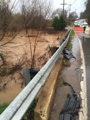Greer police have closed East Suber Road at Sweetbriar Court due to flooding.