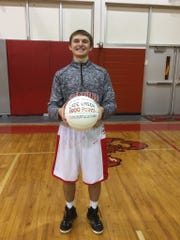 Satellite's Cade Green passed 1,000 points while scoring