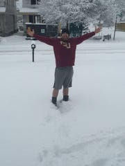 Former FSU and Chiles baseball player Jimmy Marshall in Nashville, Tennessee, on Saturday.