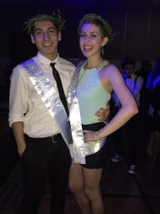 Wooster High School Senior Haley Carroll was named winter homecoming queen atdance last weekend.  Also pictured is homecoming king Armando Ayala.