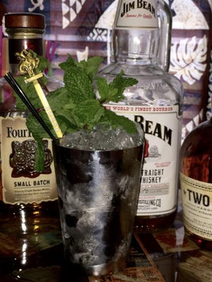 A properly made Mint Julep is the perfect cocktail to serve at a Kentucky Derby party.