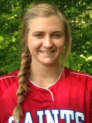 St. Clair softball player Alexis Churchill