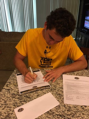 Kicker Brandon Ruiz becomes the first football player in Williams Field history to make All-American after signing on to play in the U.S. Army All-American Bowl