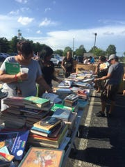 Vineland Public Schools hosted a free book giveaway last year that attracted several generations of local readers.