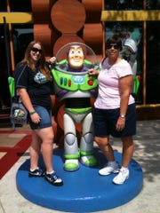 Meg O'Malley and her mother, Lisa Lyon, enjoyed a trip to Disney World together in 2012.