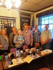 The Waupun Kiwanis Club honored Chloe Harmsen as a