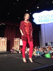 Fashion shows are an inspirational feature of Vogue Knitting Live.