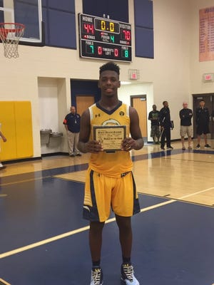 Lehigh senior Jarvis Martin notched the 1,000th point of his prep career in a 70-44 win over the Community School of Naples Saturday.