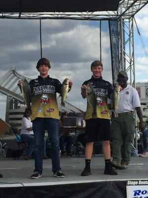 Jack Hunt and Peyton Hawkins won the Department of Natural Resources state championship last weekend.