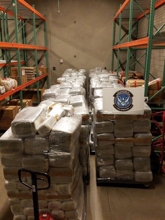 Border drug smuggling