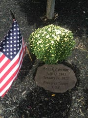 A memorial in Fair Lawn for Frank Connor, who died