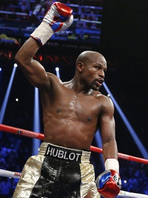 Floyd Mayweather has asked for more time to pay his 2015 tax bill.