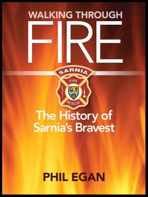 Sarnia historian Phil Egan has written a book about the city's fire department. He said Sarnia would have burned down in the 1860s if not for the Port Huron Fire Department.