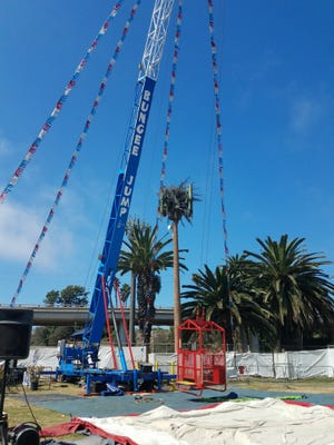 A bungee jump remained closed on Tuesday nearly a week after it malfunctioned at the Ventura County Fair.
