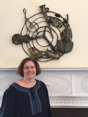An exhibit of paper sculptures by Elizabeth artist Barbara Wallace is on display in the gallery space at the Union County Office of Cultural and Heritage Affairs, St. John's Parsonage, 633 Pearl St., Elizabeth, through Friday, Oct. 20.