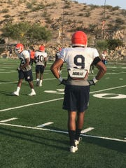 Linebacker Jayson Van Hook returned to UTEP practice on Thursday after being out with an injury.