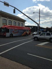 An accident involving a SporTran bus on Sept. 11 at