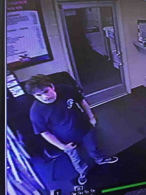 Police say this man stole an iPhone from a man trying to sell it online.