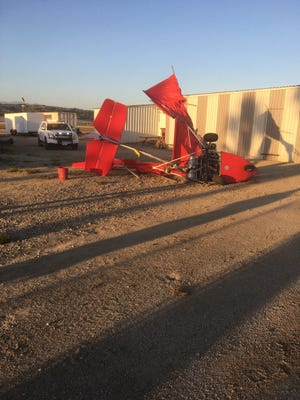 An ultralight crash landed Thursday at the Camarillo Airport. The pilot walked away with minor injuries.