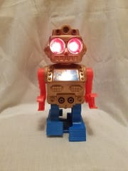 Linda Bento of Wyckoff still has a crush on this robot toy from the 1970s.