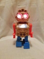 Linda Bento of Wyckoff still has a crush on this robot