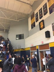 Myah Taylor's jersey was retired at Olive Branch.