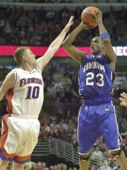 Terrell Taylor beat Florida with buzzer beating 3-pointer