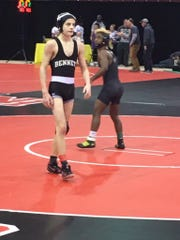 Freshman Nico D'Amico placed fourth in the Maryland