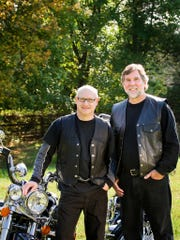 Chris Pyne (left) and Joel Rosenberg, are partners with the Stark & Stark law firm, a sponsor of the 15th annual Bikers Rally Across America for Brain Injured Children on Saturday, April 14.