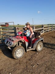 Crystal Hepp and 6-year-old daughter Adyley at the