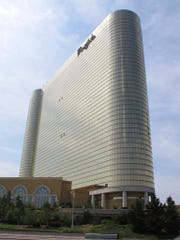 This June 26, 2013, photo shows the exterior of the Borgata Hotel Casino & Spa in Atlantic City, N.J. On Tuesday, May 22, 2018, the casino said it would begin accepting sports bets on the first day New Jersey regulators will allow it. (AP Photo/Wayne Parry)