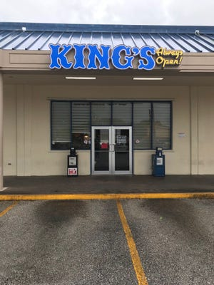 King's Restaurant in Harmon was closed after health inspectors found evidence of a cockroach infestation during an inspection on July 30, 2018 in the Harmon location.