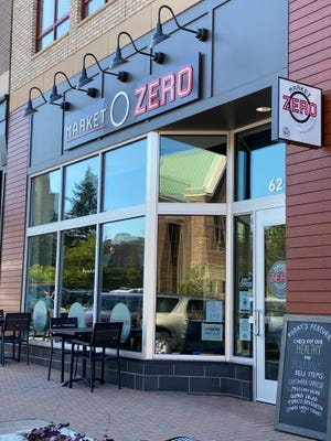 Market Zero opened on Eighth Street in mid-May. The shop provides a variety of food and drink options, including espressos, smoothies, sandwiches and salads -- as well as groceries.