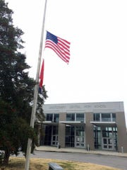 Flags fly at half staff at MCHS to honor two students,