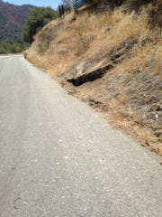 This is where Rev. Mark Wilson of Visalia crashed face