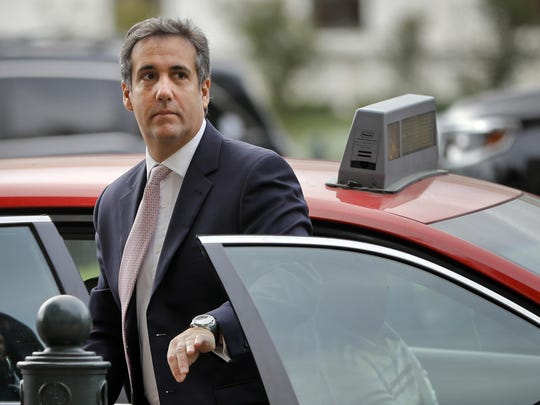 In this Sept. 19, 2017, file photo, Michael Cohen,