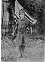 Brownie Girl Scout circa 1925