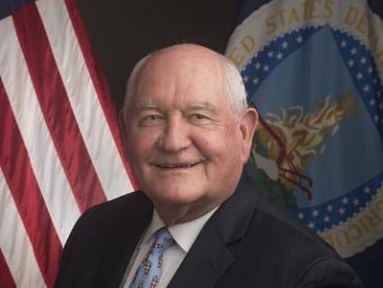 Sonny Perdue, agriculture secretary