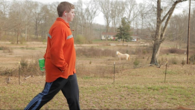 """Brady Kluge in a scene from the documentary """"Fed Up."""""""