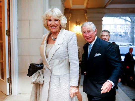 Prince Charles Duchess Camilla Arrive In Usa