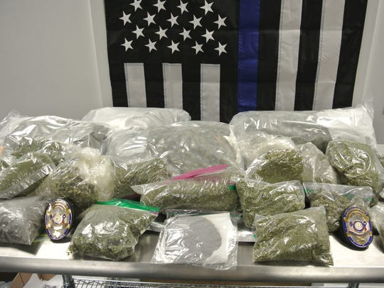 Wichita Falls police seized about 7 pounds of marijuana